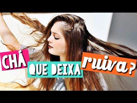 CHÁ NOS CABELOS (MUITO BRILHO E REFLEXOS RUIVOS)   BrunaTV ft. TAMMY SLOTY - YouTube