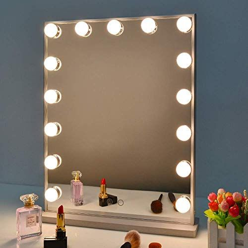 New Nitin Hollywood Vanity Mirror Lights Dimmable Tabletop Wall