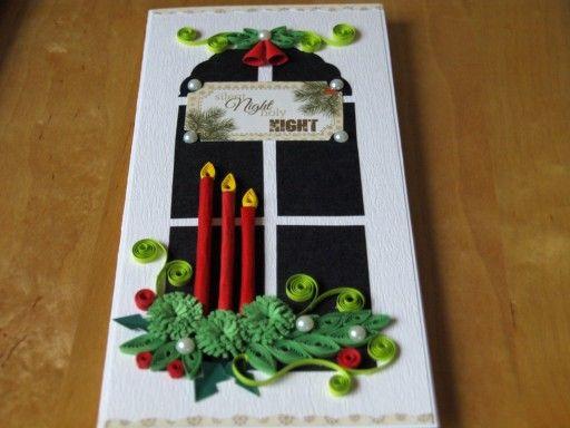 Kartka Recznie Robiona Na Boze Narodzenie Quilling 6997897023 Oficjalne Archiwum Allegro