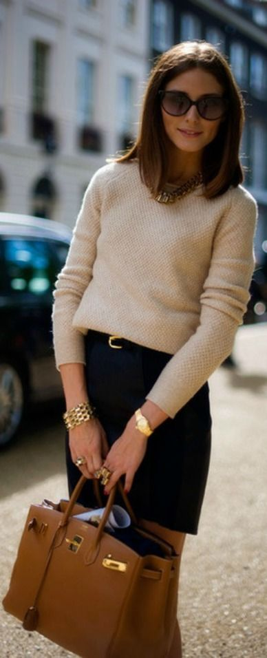 work appropriate: Olivia Palermo NYC street style