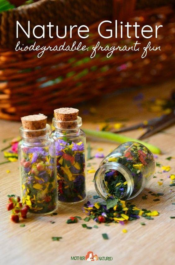 DIY Biodegradable glitter - so pretty!    #glitter #diyglitter #ecofriendlyglitter #biodegradableglitter