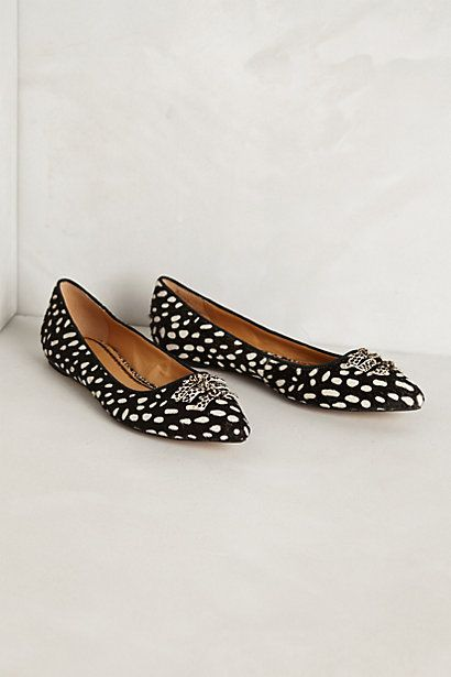 Skipperdee Flats #anthropologie. I bought the turquoise pair