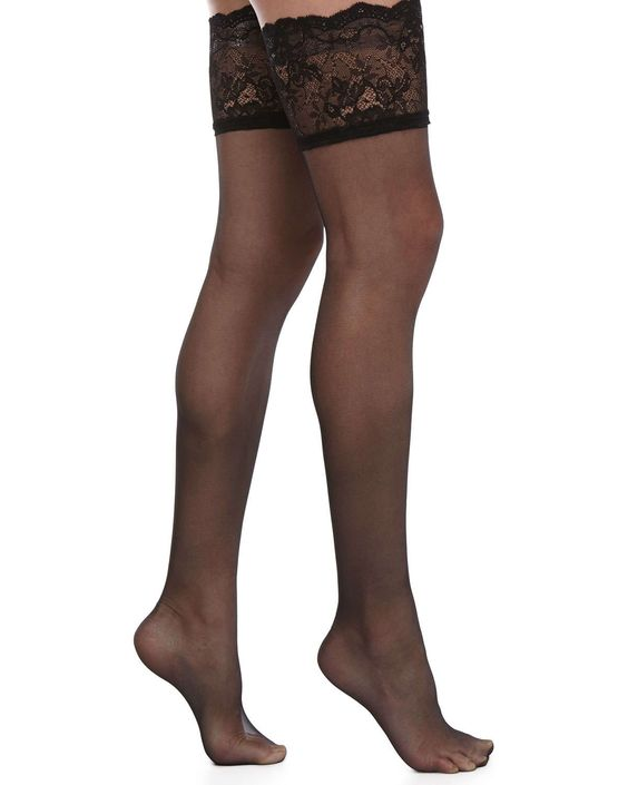 Signature Chantilly Lace Thigh High Stockings                                                                                                                                                      More
