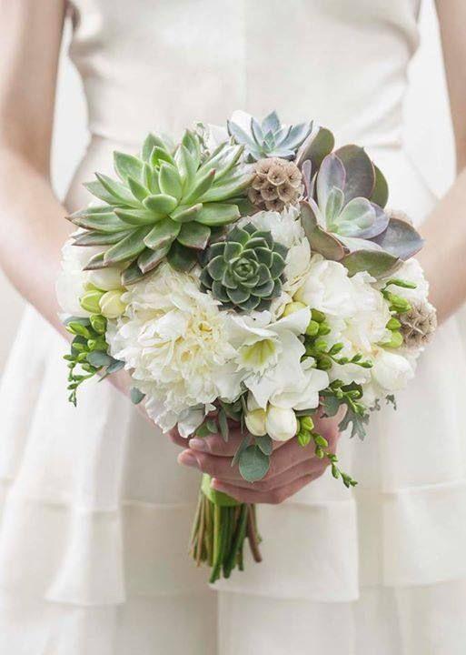 Novidades para festas de casamento 2018 - Suculentas