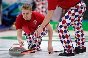Olympic Curling - Awesome outfits!!