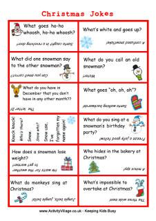 Christmas jokes for kids - as groan worthy as the ones in the Christmas crackers!
