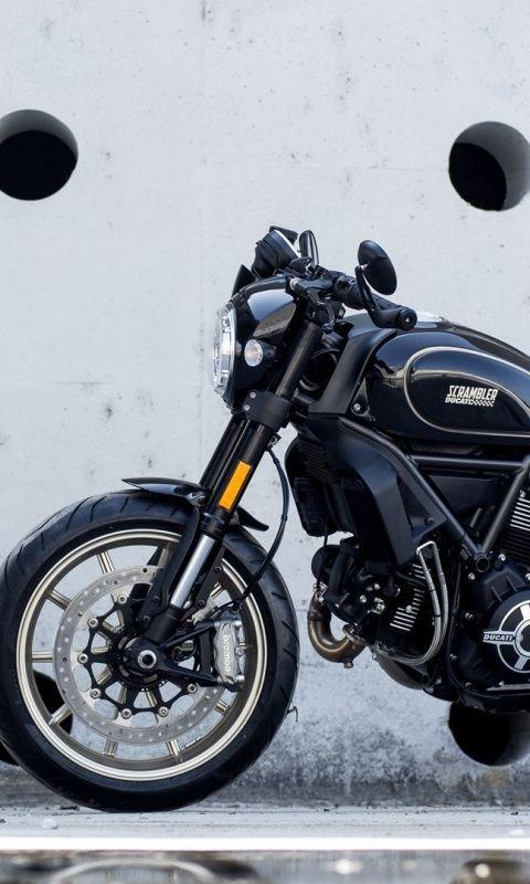 Black Ducati Scrambler Motorcycle 480x800 Wallpaper Ducati Scrambler Motorcycle Wallpaper Motorcycle Black motorcycle wallpaper hd