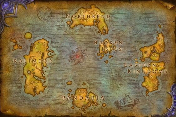 A new Legion map, a new hippogryph mount, new creature models, and new icons…