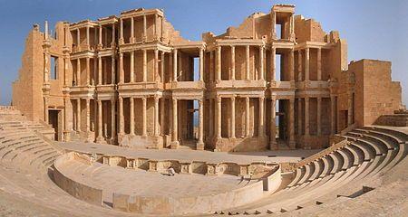 Sabratha - the theatre