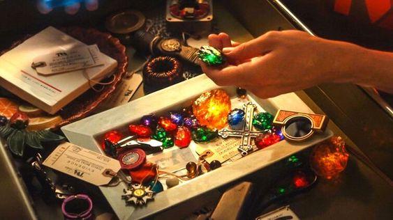 Loki's funny scene of bunch of infinity stones