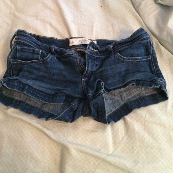 Abercrombie & Fitch jean shorts Classic denim shorts Abercrombie & Fitch Shorts Jean Shorts
