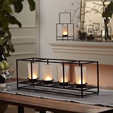 Sleek and simple centerpiece design #partylite #candles #centerpiece