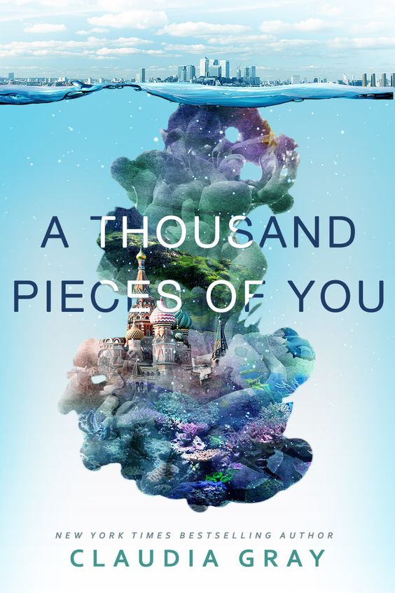 This could've been the cover of A Thousand Pieces of You -- it was an alternative concept. What do y'all think?