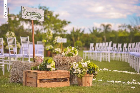 Bodas al aire libre y decoraci n de matrimonios campestres boda al aire libre pinterest bodas - Decoracion para bodas al aire libre ...