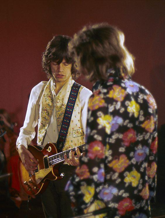 Mick Jagger & Mick Taylor
