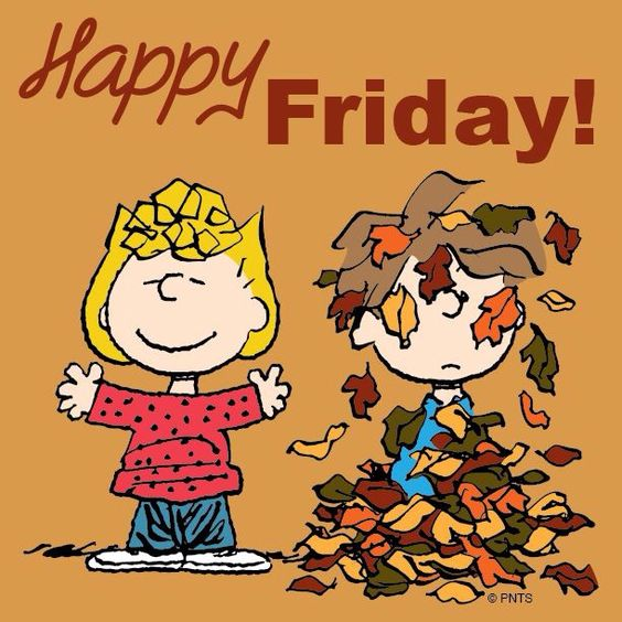 Happy Fall Friday Charlie Brown