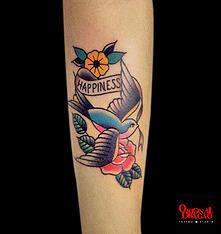 Tattoo Old School - Andorinha (Bird) - Hudson Mateus | Original Dragão Tattoo Studio