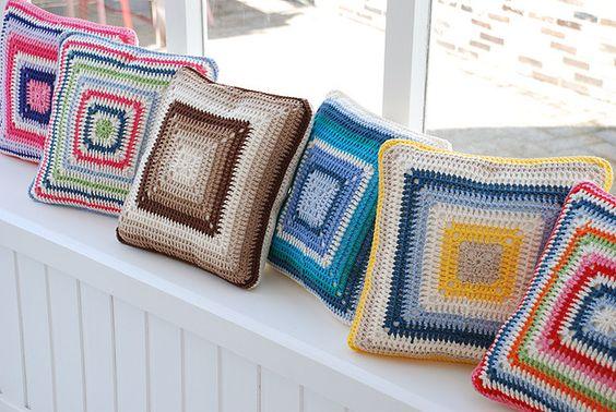 Crochet Pillows: