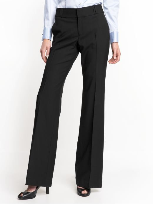 black dress slacks | Dress Pants for Tall Women | Gap – Free ...
