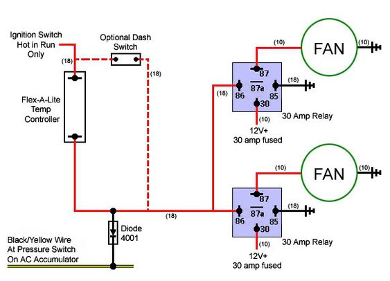 wiring diagram for fan relay the wiring diagram imperial electric fan relay wiring diagram electric fan wiring diagram