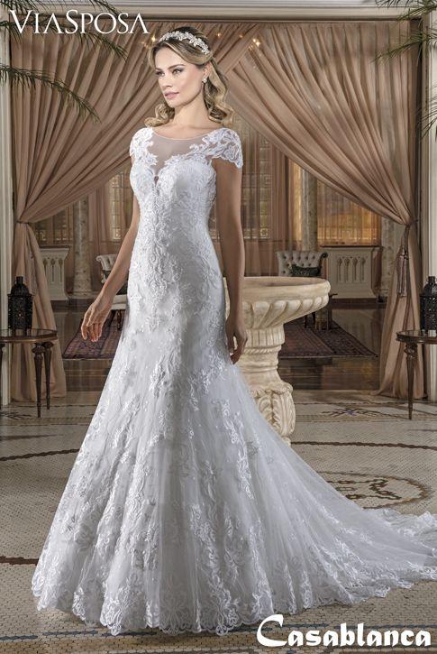 Vestido De Noiva Via Sposa Colecao Casablanca 09 Vestido Semi