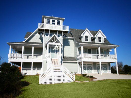 The outer banks paper paper and private pool on pinterest - 4 bedroom cabins in north carolina ...