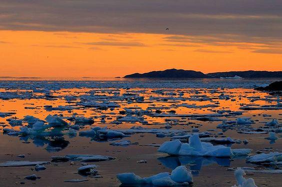 iceberg remnants