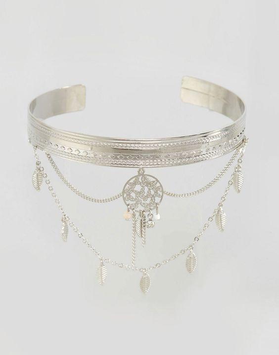 bracelet de bras drap avec attrape r ves mode pinterest capteurs de r ves bracelets et. Black Bedroom Furniture Sets. Home Design Ideas