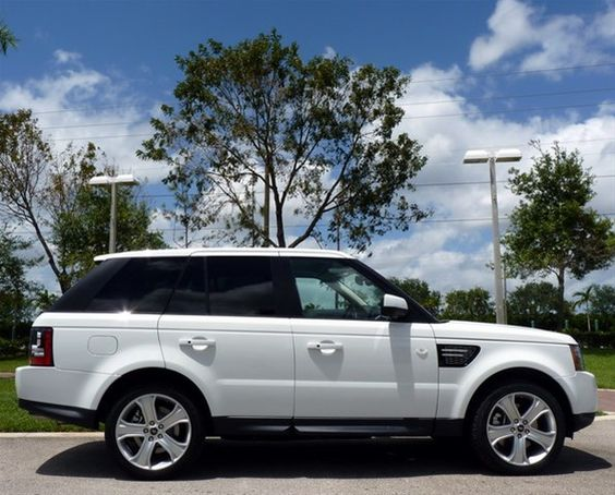 2013 Land Rover Range Rover Sport in Fuji White #LandRoverPalmBeach #LandRover #RangeRover http://www.landroverpalmbeach.com/
