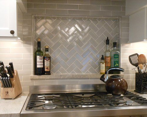 Ann Sacks Crackle Houzz Kitchen Niche Kitchen Renovation Replacing Kitchen Countertops