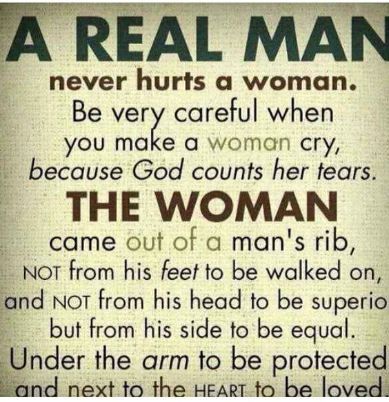 This is what my elder sis sent me recently... She asked me to be a Man always and not a male..