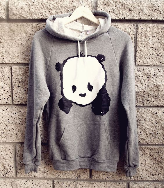 Baby Panda Hoodie Sweater: