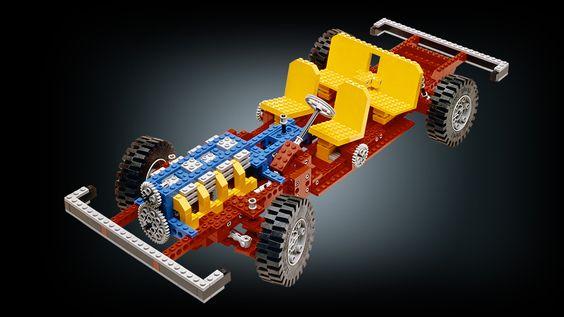 das erste LEGO Technic Modell aus dem Jahr 2007