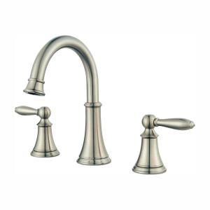Pfister Courant 8 In Widespread 2 Handle Bathroom Faucet In