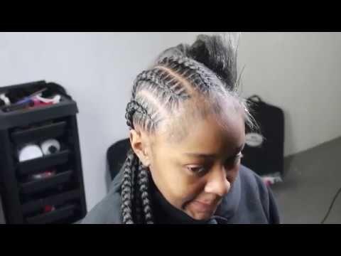 Feed In Braid Tutorial Stitch Braids Beginner Friendly Youtube