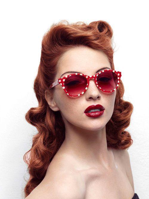 Les Opticiens Maurice Frères ♥ :  Lolita Lempicka glasses collection 40's
