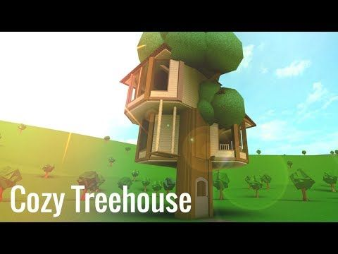 Roblox Bloxburg Cozy Treehouse Youtube Tree House House Decorating Ideas Apartments Home Building Design