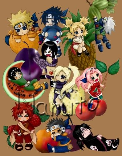 Chibi Fruit Group