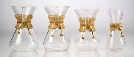 La cafetière Chemex | Le retour au café de qualité