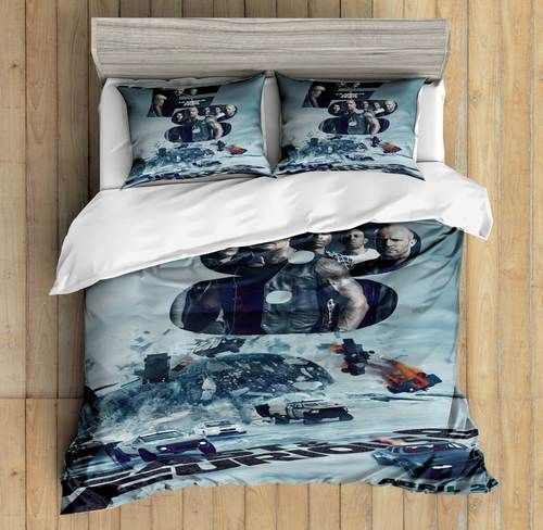 3D Custom Fast & Furious Bedding Set Duvet Cover Set Bedroom ...
