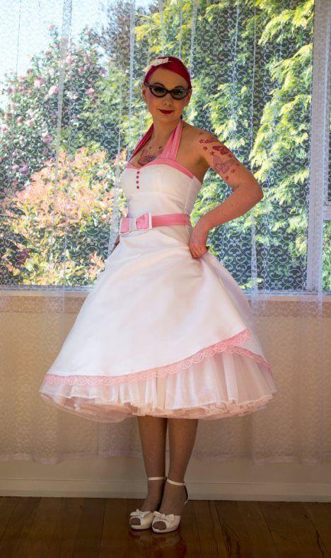 Pixie Pocket - vintage & rockabilly trouwjurken. Bridesmaids dress?