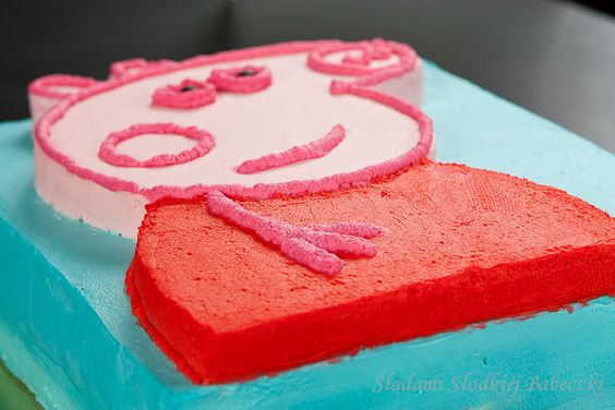 Tort Świnka Peppa   Peppa Pig Cake