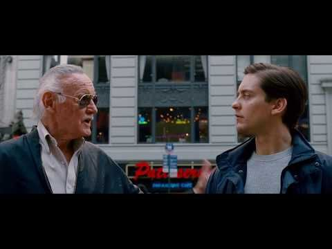 Stan Lee Has Made Numerous Appearances In Marvel Films And Shows Dating Back To 1989 And All The Way To This Year S Venom Stan Lee Cameo Movie Clip Stan Lee