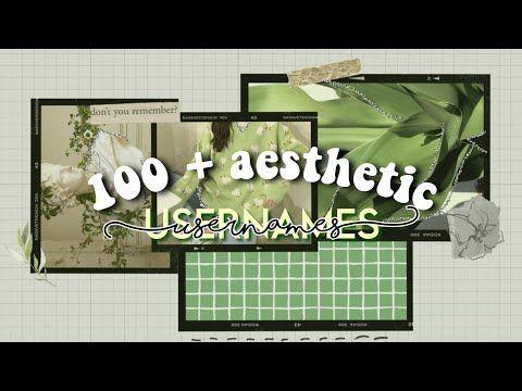 Aesthetic Username Ideas Roblox Gacha Ig Etc Youtube Aesthetic Usernames Aesthetic Instagram
