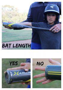 How To Choose The Right Size Bat I Love To Watch You Play Baseball Boys Team Mom Baseball Baseball Hitting