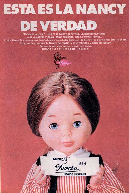 Muñeca Nancy, de Famosa (1974)|