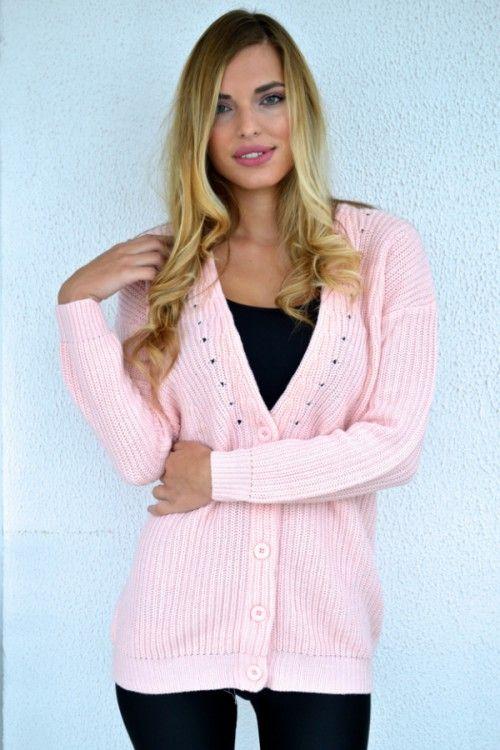 Candy Cardigan (Pink)