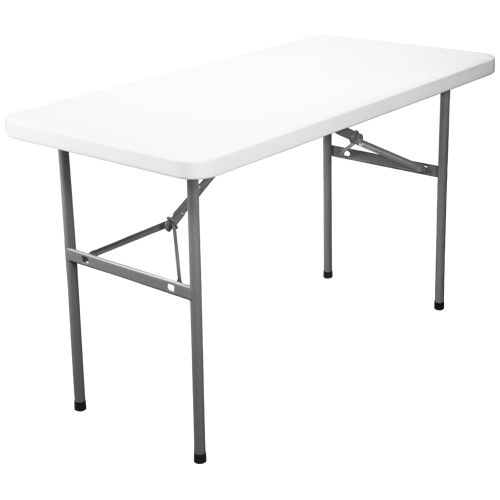 4 Foot Folding Table And Plastic Folding Tables In Stock At Ctc Event Furniture Contact Us Today Folding Table Banquet Tables Rectangular
