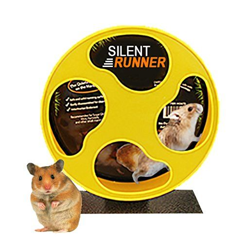 Silent Runner 9 Exercise Wheel Cage Attachment For Hamsters Gerbils Mice And Other Small Pets Hamstercagesdepot In 2020 Small Pets Small Animal Cage Sugar Glider