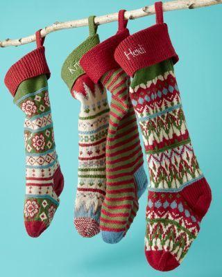 Garnet Hill Woolen Stockings | Products I Love | Pinterest ...